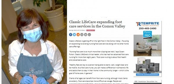 Classic Expanding Foot Care Services
