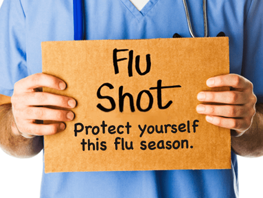 Help prevent the spread of the flu